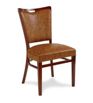 Gar Series 424 Wrap Side Side Chair with Padded Seat and Padded Back