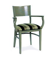 Gar Series 9635 Arm Chair with Padded Seat