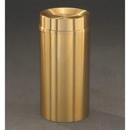 Glaro TA1533BE Atlantis Tip Action Top Trash Can, 15 x 33, 16 Gallon - Satin Brass