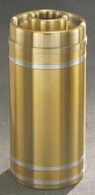 Glaro D1534 Capri Donut Top Ash and Trash Receptacle, 15 x 33, 16 Gallon