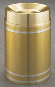 Glaro TA2034 Capri Tip Action Top Trash Can, 20 x 35, 33 Gallon