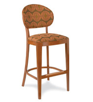 Gar Series 700 Padded Seat and Padded Back Barstool