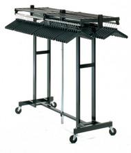 Magnuson Mobile Folding Mega Rak with Hanger Bar MR-611H