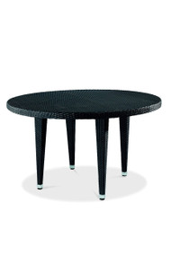 Gar Asbury Outdoor Round Woven Table with Legs