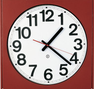 "Peter Pepper Model 880 - 14.5"" Square Wall Clock"