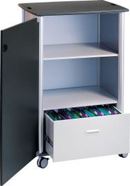 "Peter Pepper 7990 Wheelies Mobile File and Storage Cart - 42"" High"