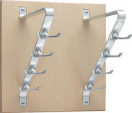 Peter Pepper Vertical Coat Hook Panel 2196