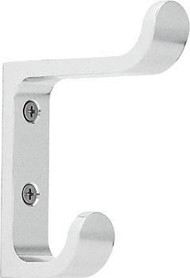Peter Pepper 2001 Aluminum Double Prong Coat Hook