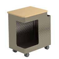 """Peter Pepper Next PCM - PopCart with Hinged Top and Side Pocket - 25"""" H"""
