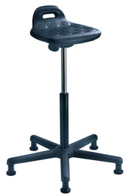 Cramer Seating - Rhino Sit/Stand Adjustable Perch Stool with 5-Star Base SSOH1
