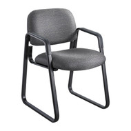 Safco Cava Urth Sled Base Side Chair Black 7047BL