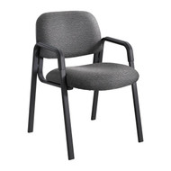 Safco Cava Urth Straight Leg Side Chair Black 7046BL