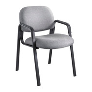 Safco Cava Urth Straight Leg Side Chair Gray 7046GR