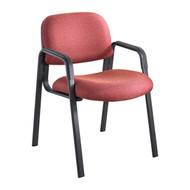 Safco Cava Urth Straight Leg Side Chair Burgundy 7046BG