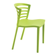 Safco Entourage Stack Chair - Grass 4359GS - Carton of 4