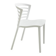 Safco Entourage Stack Chair - White 4359WH - Carton of 4