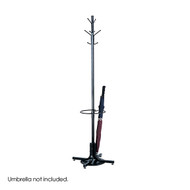 Safco Coat Tree with Umbrella Stand 4168BL