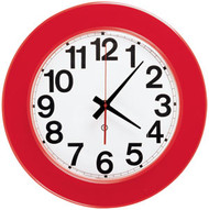"Peter Pepper Model 400P - 12.75"" Round Wall Clock"