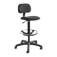 Safco Economy Extended Height Black Chair / Stool 3390BL