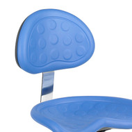 Safco SitStar Stool Back 6661BU - Blue