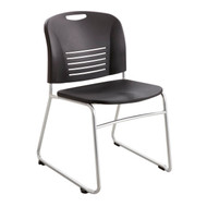 Safco Vy Sled Base Stack Chair 4292BL - Carton of 2