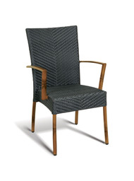 Gar Vineyard Outdoor Stacking Armchair
