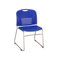 Safco Vy Sled Base Stack Chair 4292BU - Carton of 2