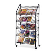 Safco 4129CH Mobile Literature Rack