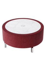 "Woodstock Jefferson 32"" Round Coffee Table"