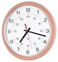 Peter Pepper Model 843P Round Wall Clock
