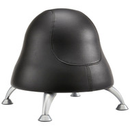 Safco 4756BV Runtz Ball Chair - Black Vinyl