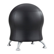 Safco 4751BV Zenergy Ball Chair - Black Vinyl