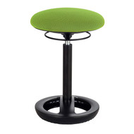 Safco 3000GN Twixt Active Seating Stool - Desk Height - Green Mesh