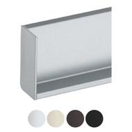 Schwinn 6K377 L Cap Rectangle Left, Silver (Matches Clear Anodized) (UPC 4000913544796)