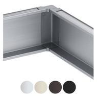 Schwinn 6K399-C Inner Corner, Silver (Matches Clear Anodized) (UPC 4000913544673)