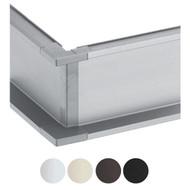Schwinn 6K400-C Outer Corner, Nickel Color (UPC 4000913544642)