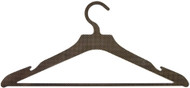 Carbon Fiber Clothes Hanger for Suits, Including Crossbar for Pants