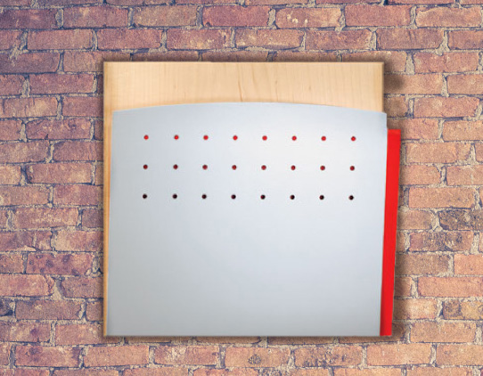medical wall-mounted file holder