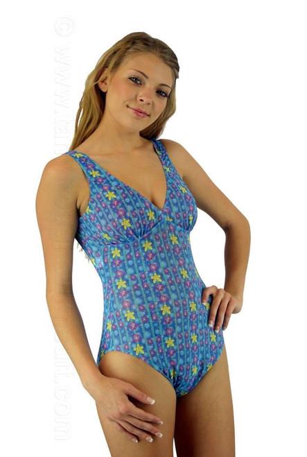 Tan Through Swimwear Structured Tank Cb8611 Lifestyles Direct