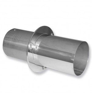 """IMCO 4"""" Extra Long Straight Cut Exhaust Tips (Pair) (02-6340)"""