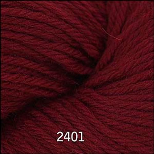Cascade 220 Yarn - 100% Peruvian Wool - 2401 Burgundy