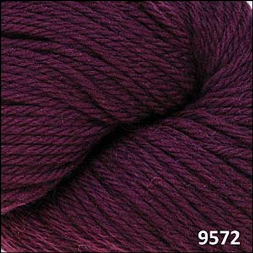 Cascade 220 Yarn - 100% Peruvian Wool - 9572 Cabernet