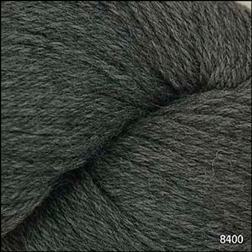 Cascade 220 Yarn - 100% Peruvian Wool - 8400 Charcoal Grey