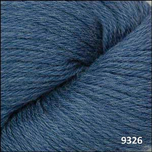 Cascade 220 Yarn - 100% Peruvian Wool - 9326 Colonial Blue Heather
