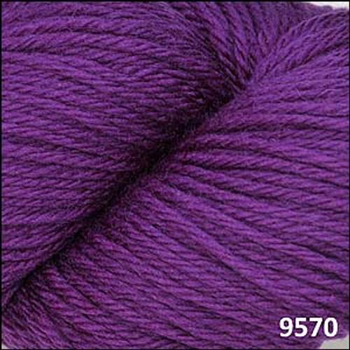 Cascade 220 Yarn - 100% Peruvian Wool - 9570 Concord Grape