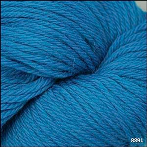 Cascade 220 Yarn - 100% Peruvian Wool - 8891 Cyan Blue