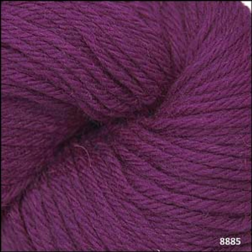 Cascade 220 Yarn - 100% Peruvian Wool - 8885 Dark Plum