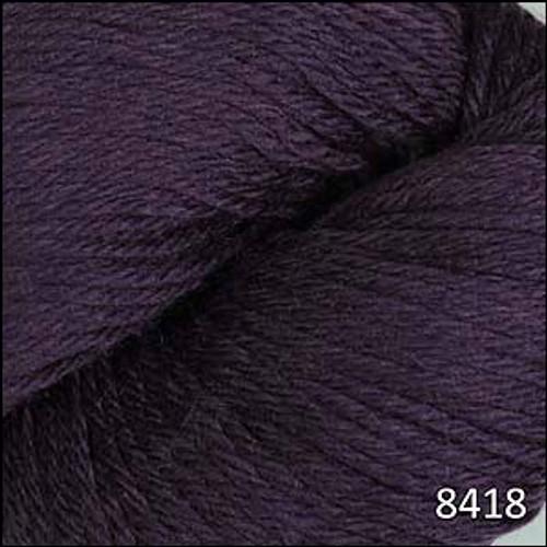 Cascade 220 Yarn - 100% Peruvian Wool - 8418 Eggplant