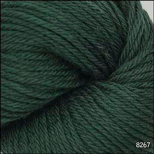 Cascade 220 Yarn - 100% Peruvian Wool - 8267 Forest Green