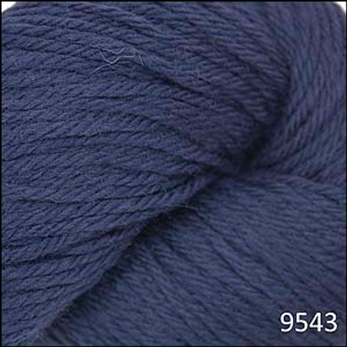 Cascade 220 Yarn - 100% Peruvian Wool - 9543 Midnight Blue